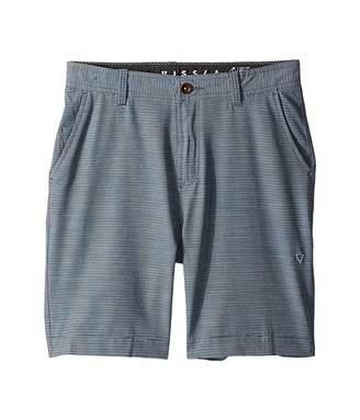 VISSLA Kids Stripe Rope Hybrid Shorts (Big Kids)