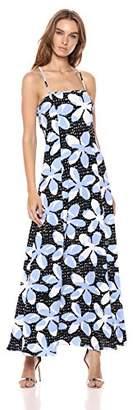 Armani Exchange A|X Women's Tropical Tie Back Dress