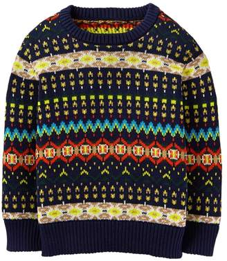 Crazy 8 Fair Isle Sweater