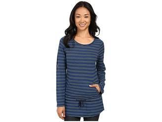 Royal Robbins Breeze Thru Stripe Cover Top Women's Long Sleeve Pullover