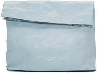 Simon Miller Grey Large Lunch Bag 30 Clutch