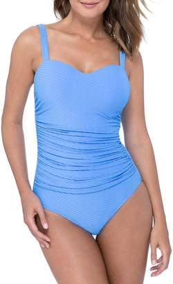 Gottex Profile by D-Cup Wide Strap One-Piece Swimsuit