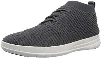 FitFlop Men's Uberknit Slip-ON HIGH TOP Sneaker in Waffle Knit