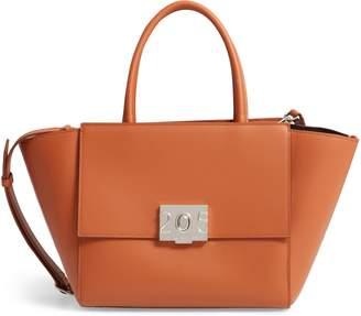 ee4534f1c4c Calvin Klein Bonnie Top Handle Leather Satchel