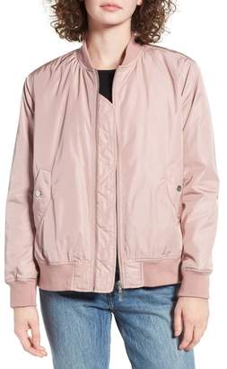 BP. Pleat Back Bomber Jacket $69 thestylecure.com