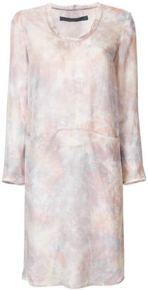 Raquel Allegra tonal-gradient shift dress