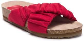L4L Malia Criss-Cross Slide Sandal