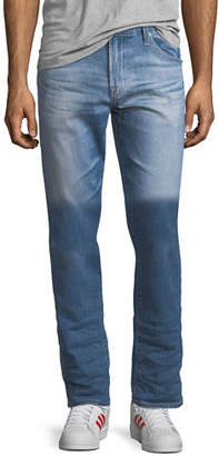 AG Adriano Goldschmied Ives Athletic-Fit Jeans in 9 Years Hammer