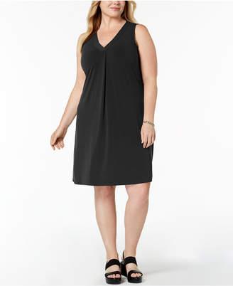 Alfani Plus Size V-Neck Dress, Created for Macy's