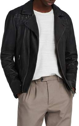 AllSaints Conroy Leather Biker Jacket