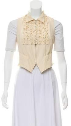 Jean Paul Gaultier Sleeveless Zip-Up Vest