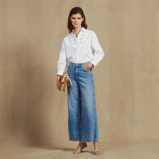 Sandro Wide Leg Jeans