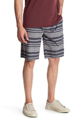 TRAVIS MATHEW Mott Stripe Board Short $84.95 thestylecure.com