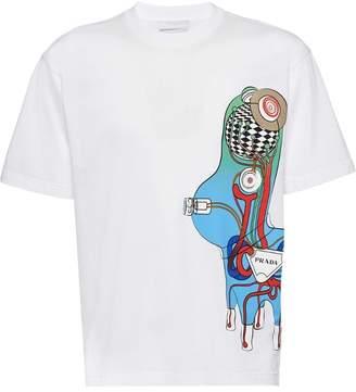 Prada Pradamalia cotton T-shirt