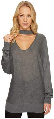 Splendid Cut Out Pullover Women's Clothing