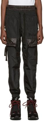 KTZ Black Jogger Trousers $590 thestylecure.com