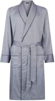 Harrods Birdseye Print Robe