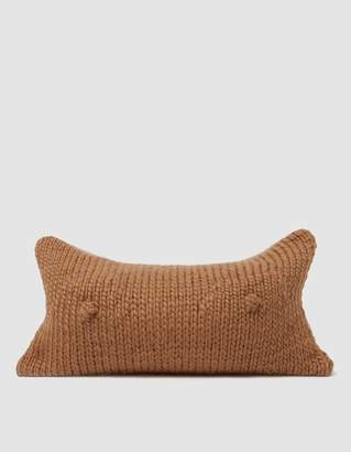Sin A Cup Pillow in Almond