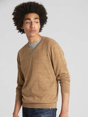 Gap Budding V-Neck Pullover Sweater