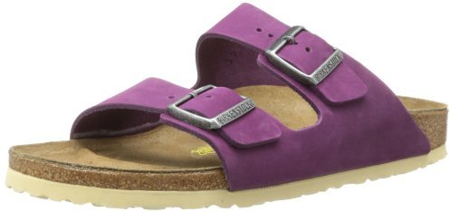 Birkenstock Women's Arizona Cream Sole Leather Sandal
