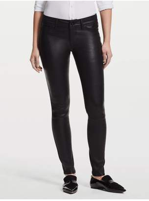 DL1961 Emma Front Leather Skinny | Poseidon