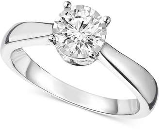 Trumiracle Diamond Solitaire Engagement Ring (1 ct. t.w.) in 14k White Gold