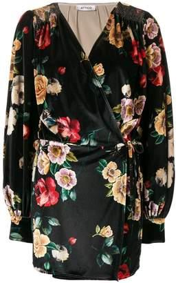 ATTICO print short dress