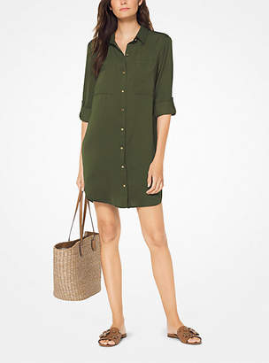 Michael Kors Woven Shirtdress