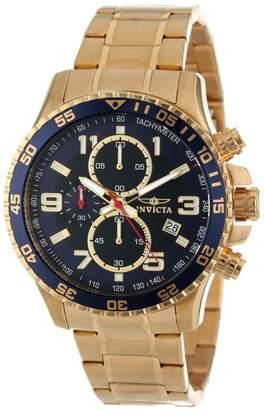 Invicta Men's Specialty 45mm Steel Bracelet & Case Quartz Analog Watch 14878