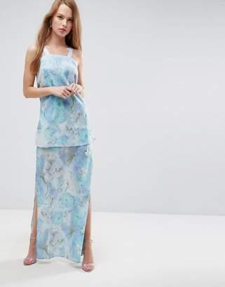 Asos 2 Piece Maxi Dress