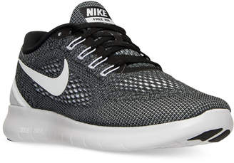 Nike Men's Free Run Running Sneakers from Finish Line $99.99 thestylecure.com