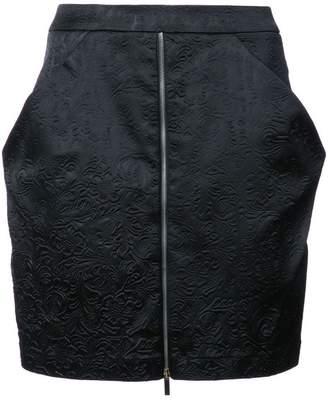 Thomas Wylde Spiderweb mini skirt