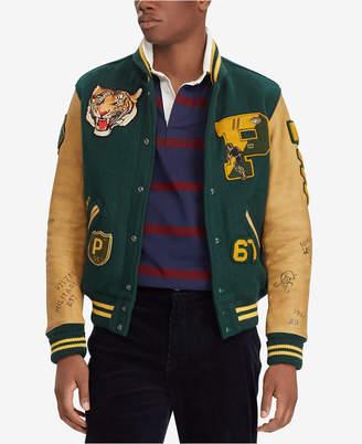 Polo Ralph Lauren Men's Patch Letterman Jacket