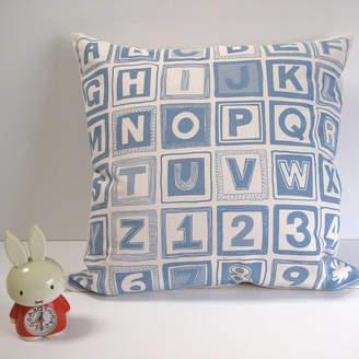 Helen Rawlinson Abc Retro Print Cushion