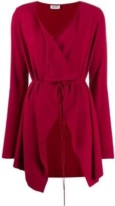 Liu Jo wrap-style cardi-coat