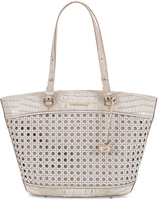 Brahmin Medium Bowie Lima Leather Tote