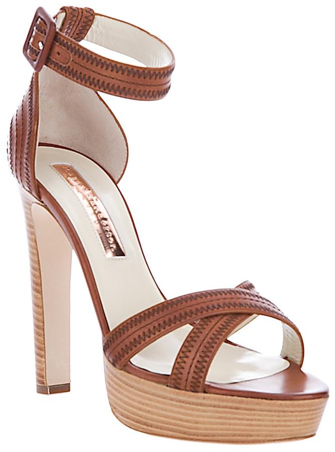 Rupert Sanderson leather sandal