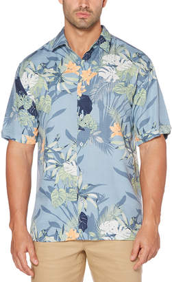 Cubavera Big & Tall Tropical Floral Print Shirt
