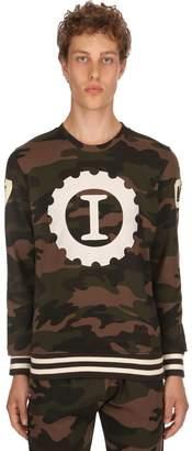 Hydrogen Garage Italia Logo Cotton Sweatshirt