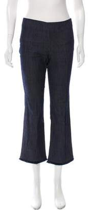 Elizabeth and James Mid-Rise Pleated Jeans