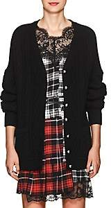 Robert Rodriguez Women's Cable-Knit Wool-Cashmere Cardigan - Black