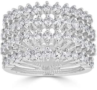 Saks Fifth Avenue Women's Ideal-Cut Diamond and 14K White Gold Ring