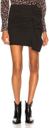 Isabel Marant Nefly Skirt in Black | FWRD