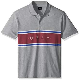 Obey Men's Palisade Short Sleeve Polo Shirt