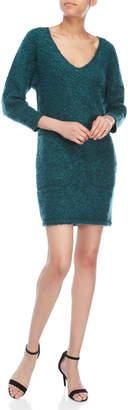 Faith Connexion Boule Curly Wool-Blend Dress