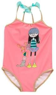 Little Marc Jacobs Baby's & Toddler's Miss Marc Swimsuit
