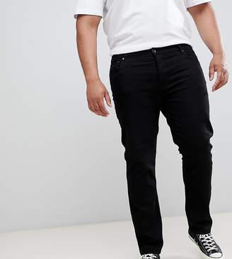 Lyle & Scott slim fit jeans in black