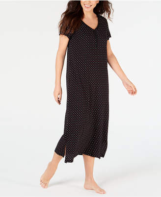 75a8632417 Charter Club Printed Soft Knit Cotton Nightgown