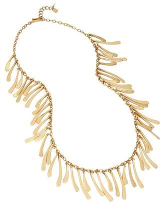 Robert Lee Morris Wavy Fringe Bib Necklace