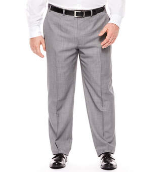 COLLECTION Collection Birdeye Flat-Front Suit Pants - Big & Tall